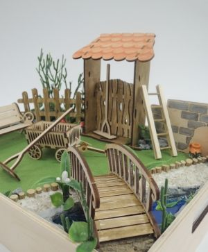 Wooden figurine - bridge IDEA1632