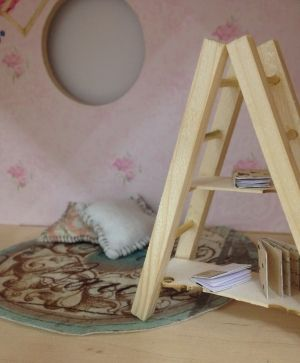 Wooden figurine - ladder IDEA1626