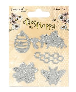 Dovecraft Die – Bee Happy DCDIE113