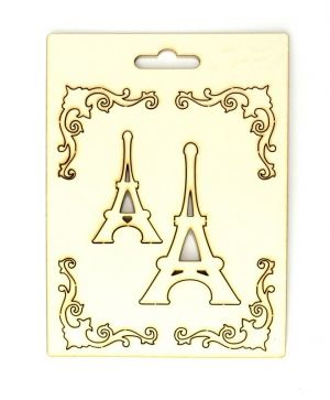 Chipboard - Paris IDEA0972