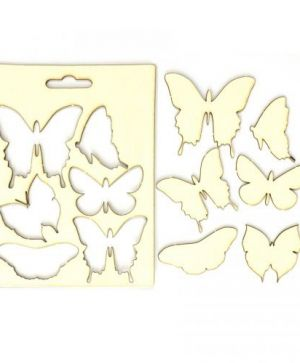 Chipboard element - Butterflies IDEA0988