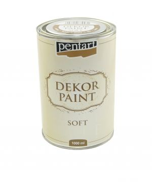 Dekor paint, soft 1000 ml - white P22730