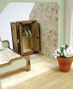 Mini wooden furniture - bedroom IDEA1687