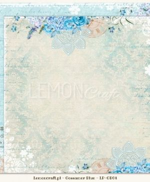 "Double-sided Paper 12""x12"" - Gossamer Blue 05 LP-GB05"