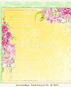 "Double-sided Paper 12""x12"" - Fresh Summer 05 LP-FS05"