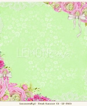 "Double-sided Paper 12""x12"" - Fresh Summer 04 LP-FS04"