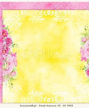 "Double-sided Paper 12""x12"" - Fresh Summer 03 LP-FS03"