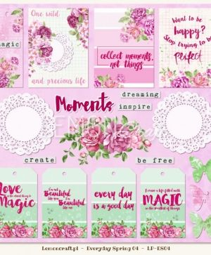 "Double-sided Paper 12""x12"" - Everyday Spring 05 LP-ES05"