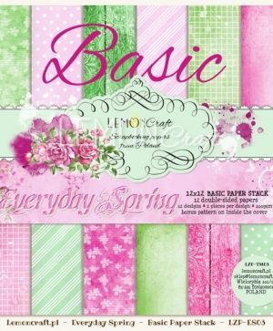 "Paper pad 12""*12"" 12 sheets - Everyday Spring LZP-TM03"