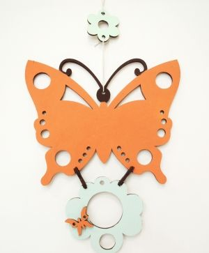 Wooden figurine - butterfly IDEA1336
