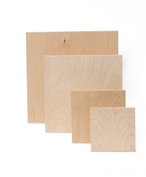 Wooden board 12.5x12.5cm - IDEA0141