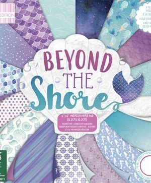 "First edition Paper Pad 6""x6"" - Beyond the Shore FEPAD169"