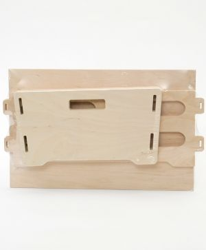 Wooden crate 38x27x15 cm - IDEA1688
