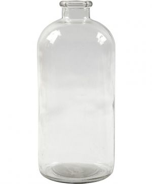 Pharmacy Bottle H: 24,5 cm, D: 10,5 cm - C55732