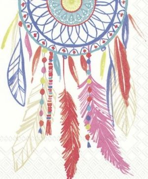 Decoupage napkins 33x33cm 20pcs - DREAMCATCHER L773690