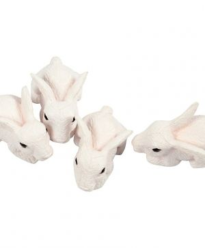Small Animals 4pcs - rabbits C69996