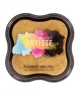 Pigment Ink Pad - Metallic Gold DOA-550110