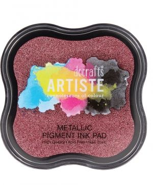 Pigment Ink Pad - Metallic Berry Red DOA-550121
