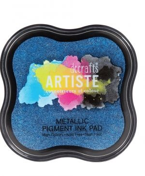 Pigment Ink Pad - Metallic Jean Blue DOA-550123