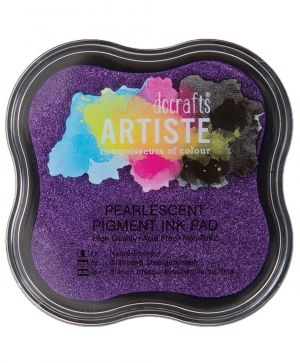 Pigment Ink Pad - Pearlescent Violet DOA-550127