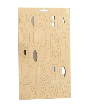 Wooden letters 60mm - IDEA1729