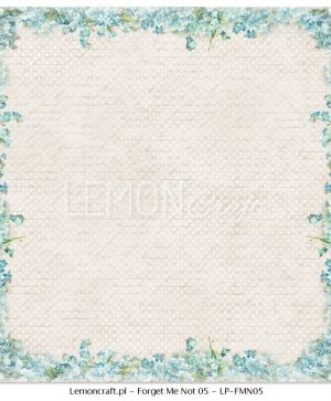 "Double-sided Paper 12""x12"" -  Forget Me Not 06 LP-FMN06"