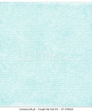 "Double-sided Paper 12""x12"" -  Forget Me Not 06 LP-FMN05"
