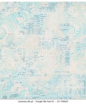 "Double-sided Paper 12""x12"" -  Forget Me Not 06 LP-FMN03"