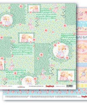 "Double-sided Paper 12""x12"" - Sweet Moments, Storytime  SCB220610306"