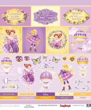 "One-sided Paper 12""x12"" - Precious Memories, Cards 2 SCB220610808B"