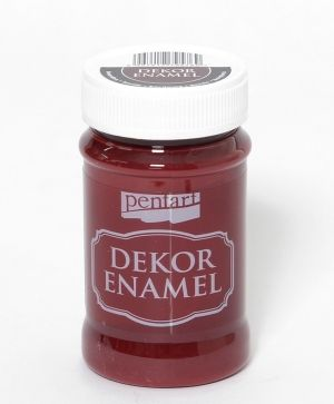 Dekor Enamel 100 ml bourdon - P34126
