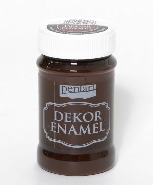 Dekor Enamel 100 ml brown - P34127