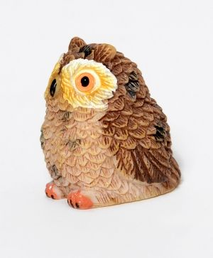 Mini owl brown  ID1420-2