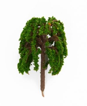 Mini tree h5.5 cm - weeping willow ID1434