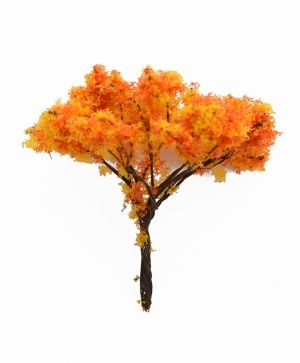 Mini tree h7 cm - autumn wood 1 ID1436-1