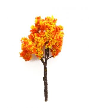 Mini tree h7 cm - autumn wood 2 ID1436-2