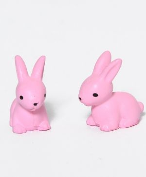 Mini Bunnies Kit 2pcs - pink ID1419-2