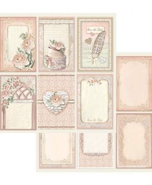 Pack 10 sheets double face 30x30cm - Ceremony SBBL42