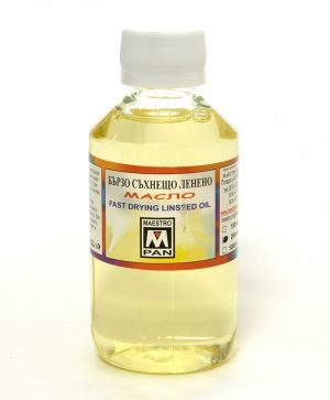 Fast drying linseed oil 200ml - 3853
