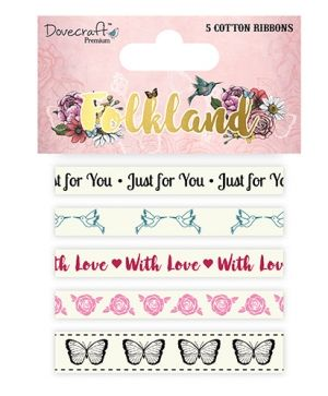 Premium Folkland Cotton Ribbons DCRBN035