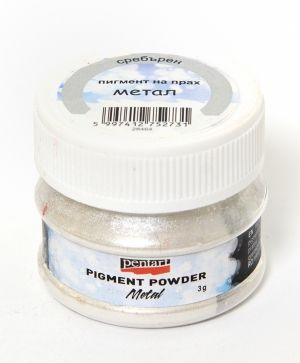 Effect pigment powder 5g - metallic silver P33645