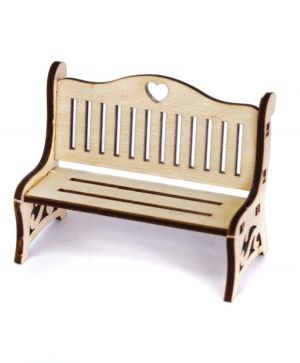Mini wooden furniture - Bench IDEA1737