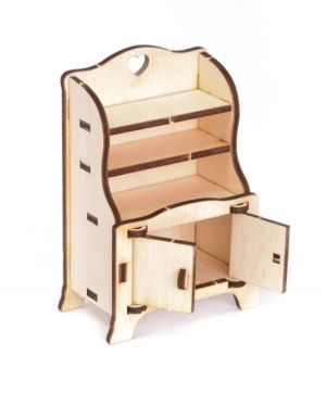 Mini wooden furniture - Cupboard IDEA1739