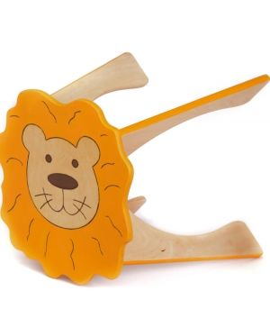 Wooden chair - Lion IDEA1749