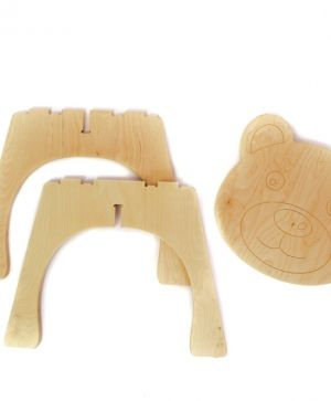 Wooden chair - Bear IDEA1747