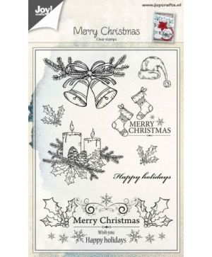 Clear Stamp - Christmas Candles/Bells 6410-0443