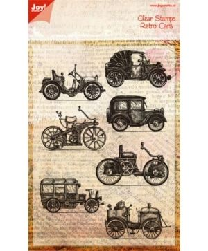 Clear Stamp - Retro cars 6410-0386