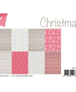 Paper pad A4 12 sheets - Christmas 6011-0509