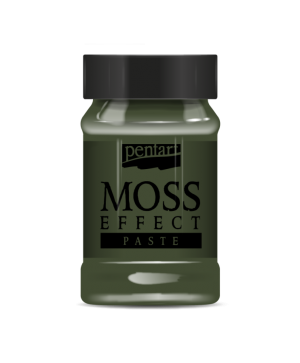 Moss effect paste 100 ml - dark green P34741