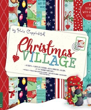 Helz Cuppleditch Christmas Village 6x6 Paper Pad - HZPAP003X18